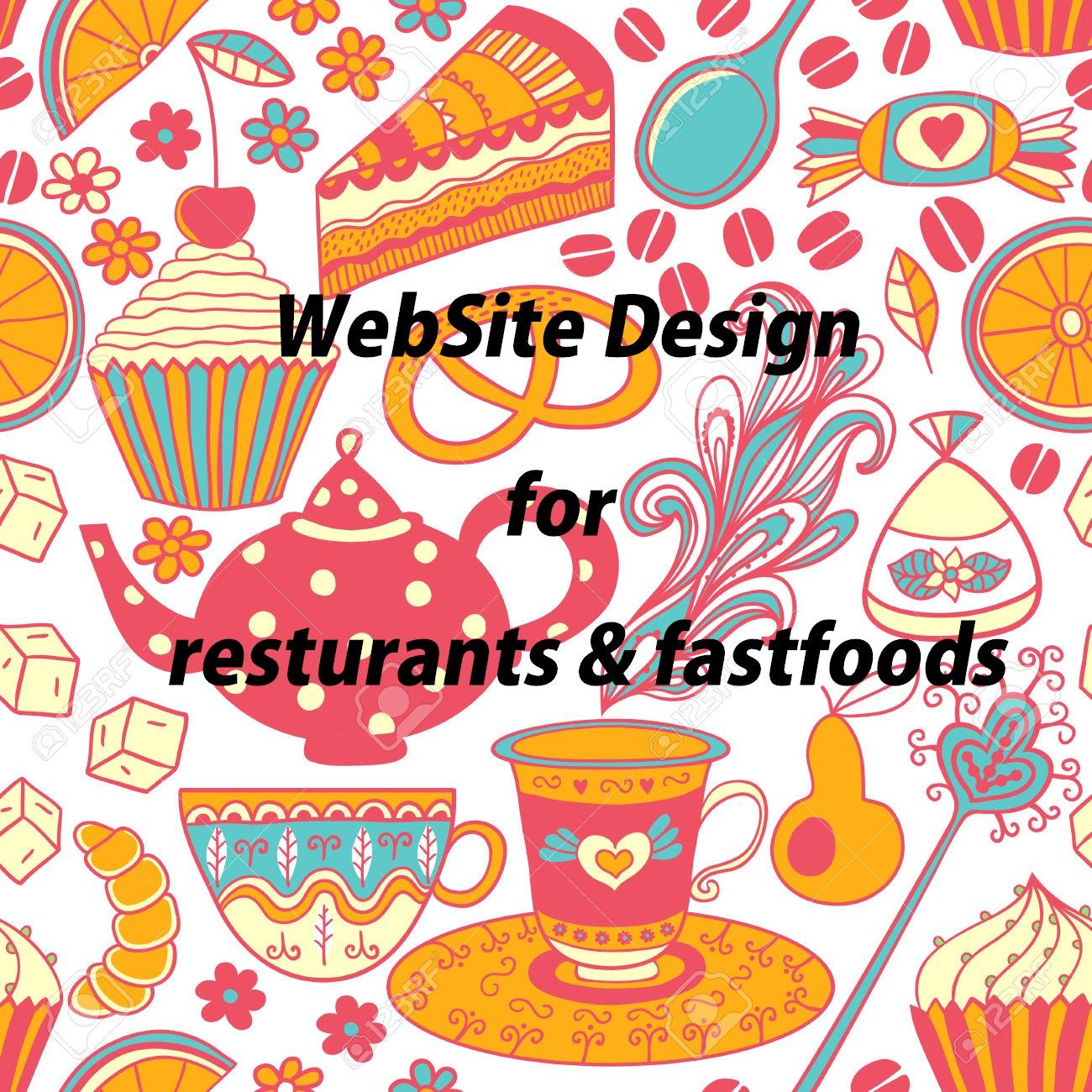 طراحی سایت رستوران و فست فود کرج