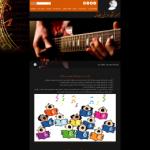 طراحی سایت و سئو آموزشگاه موسیقی چکاوک