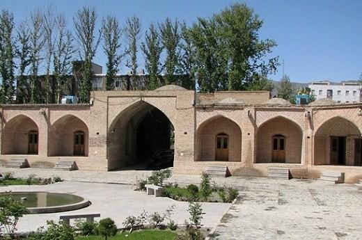 کاروانسرای شاه عباسی در کرج