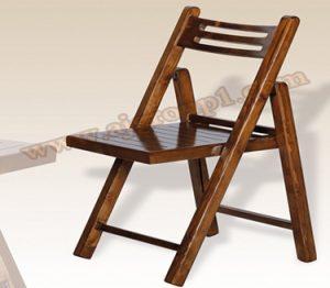 صندلی چوبی تاشو عاج